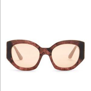 Elizabeth and James Anderson 53mm Geo Sunglasses